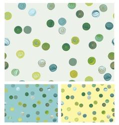 Patterns circles vector