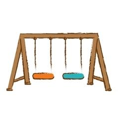 playground icon image vector image