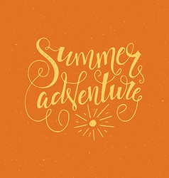 Summer Adventure vector