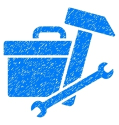 Toolbox Grainy Texture Icon vector image