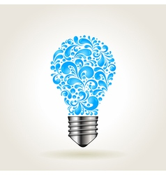Water bulb vector
