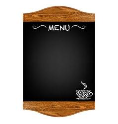 Restaurant Menu Board vector image vector image