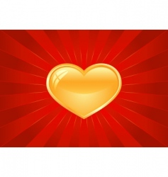 artistic Valentine's background vector image vector image