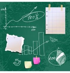 school time vector image vector image