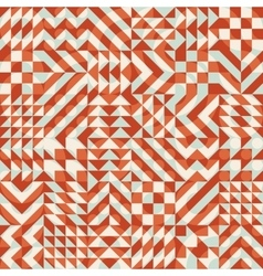 Seamless Color Overlay Irregular Geometric vector image