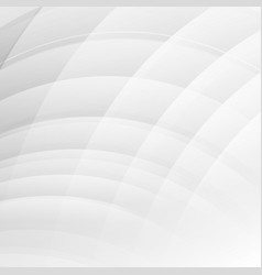 white and gray color geometric abstract vector image vector image