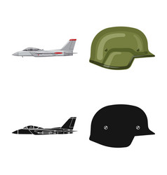 Design of weapon and gun symbol set of vector