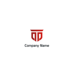 emblem symbol business construction company logo vector image