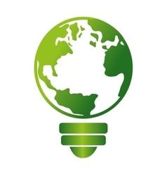 Energy alternative ecology symbol vector