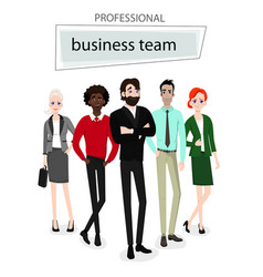 group working people on white background vector image