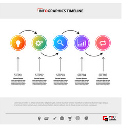 Infographic template concept business vector