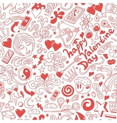 LoveValentine Day - doodles collection vector
