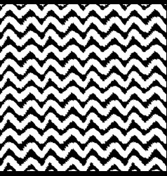 Monochrome chevron seamless pattern vector