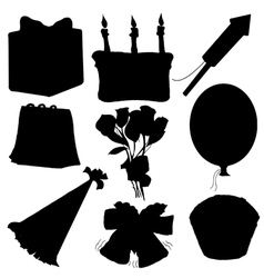 objects for celebration vector image