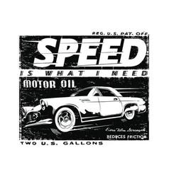 Speed vector