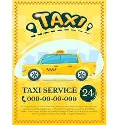 Taxi services vector