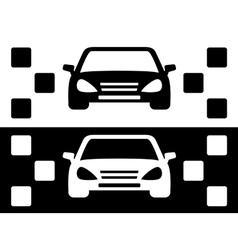 Taxi simple icon vector