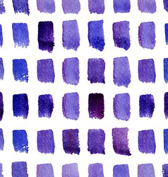 Watercolor modern pattern vector