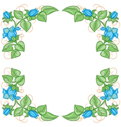 Floral decoration element vector image vector image