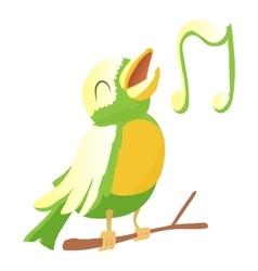 Bird icon cartoon style vector