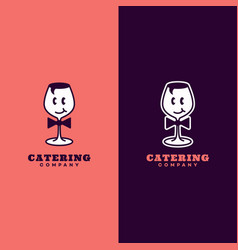 catering logo vector image
