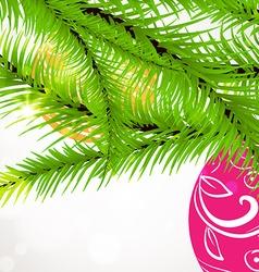 Christmas Tree Ornaments Design vector