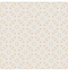 Flower sakura seamless pattern on peach color vector image
