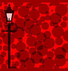 Gaslight background vector