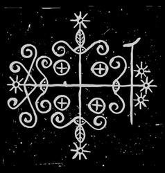 Symbol papa legba vector