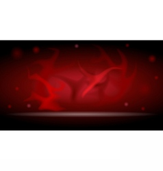 Digital abstract empty dark red background vector image