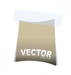 label tag icon vector image vector image