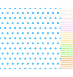 basic repeatable white plus one color pattern vector image