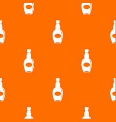 big bottle pattern seamless vector image