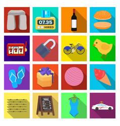 business tourism cooking and other web icon in vector image