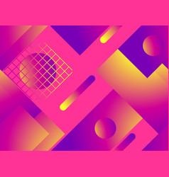 colorful liquid shape seamless pattern fluid vector image