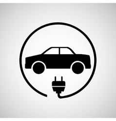 electric car design vector image