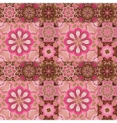 Gorgeous seamless pattern from dark blue and vector