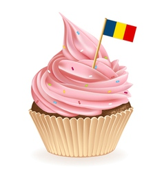 Romanian Cupcake vector