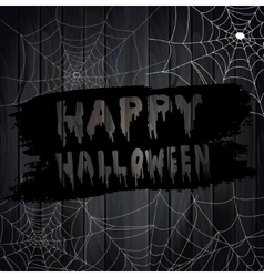 Scary Spider Webs vector