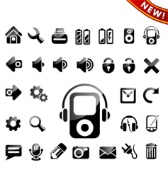 icon icons vector image vector image