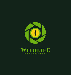 wildlife photography vector image