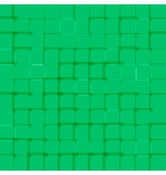 Abstract bright background with green squares vector image