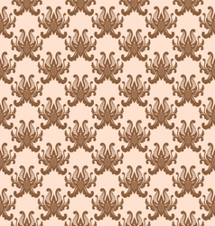 Balinese flower pattern vector