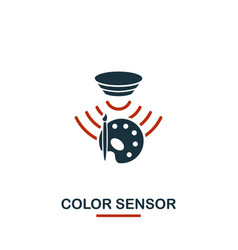 color sensor icon from sensors icons collection vector image