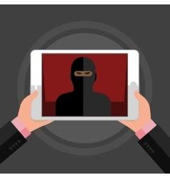 concept terrorism vector image