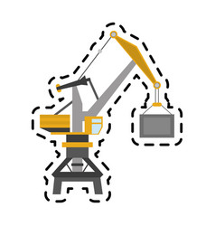 Crane icon image vector