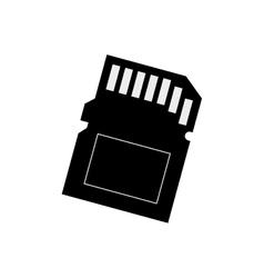 Micro sd memory card vector