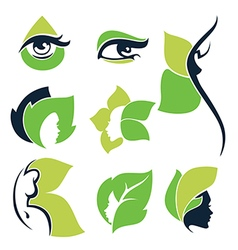 Nature beauty vector