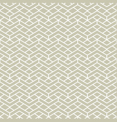 seamless pattern line grid ornament vector image
