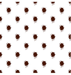 Spot of chocolate pattern vector